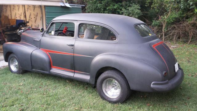 1947 Chevrolet Fleetline Hot Rat Rod 2 Door Coupe Project