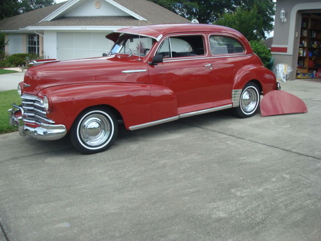 1947 chevy 2 door fleetmaster town sedan for sale in
