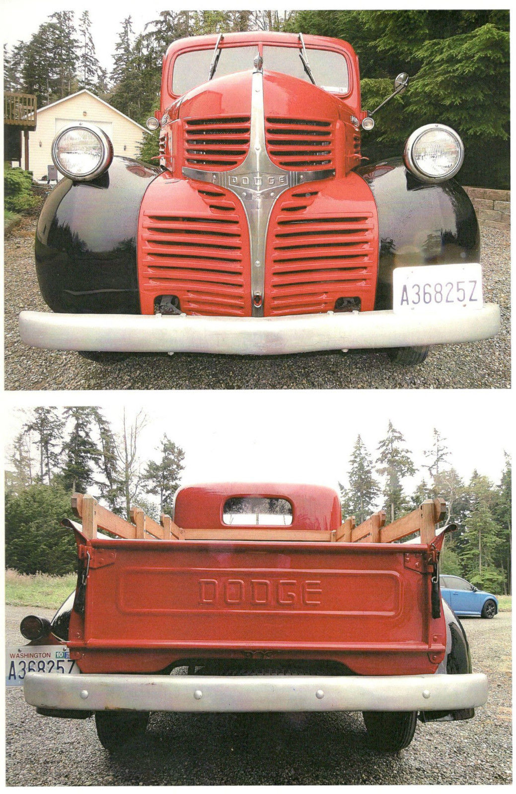 1947 Dodge Collector Pickup Truck 1 2 Ton Frame Off Restored To Original For Sale In Oak Harbor Washington United States For Sale Photos Technical Specifications Description