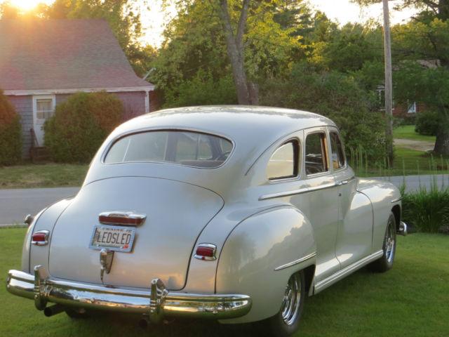 1947 dodge sedan streetrod for sale in durham  maine