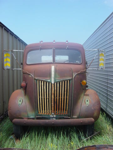 Ford Coe Cab Over Truck Car Hauler Survivor Original Flathead