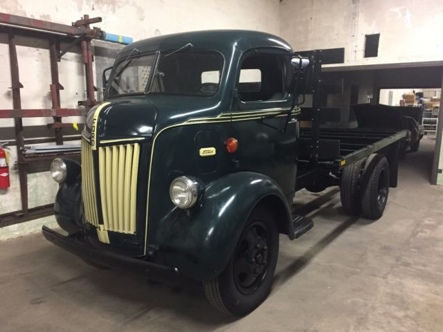 1947 Ford Coe Cabover Truck flatbed