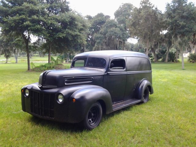 1947 Ford Panel. S10 frame V8 PS PB chopped Rat Rod!!!! for sale in ...