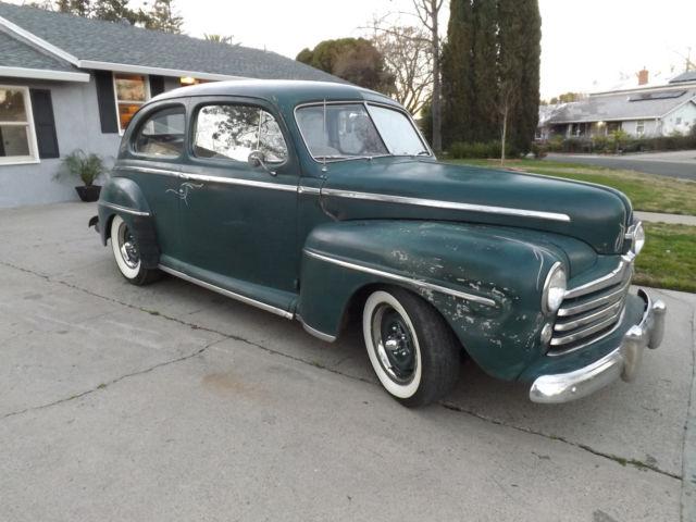 1947 Ford Tudor Super Deluxe V8 Hot Rat Rod Custom Daily