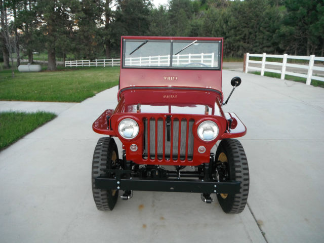 1947 jeep willys cj 2a 2 2l for sale in stevensville. Black Bedroom Furniture Sets. Home Design Ideas
