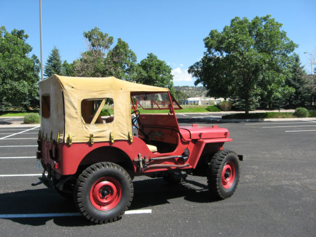 1947 willys jeep cj2a repair manual