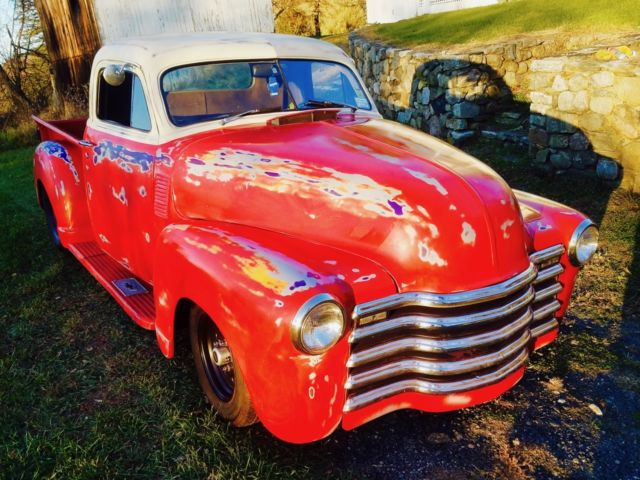 1948 Chevrolet 3100 Custom Pick Up Truck  Pro Street  Hot Rod  Barn Find Patina For Sale  Photos