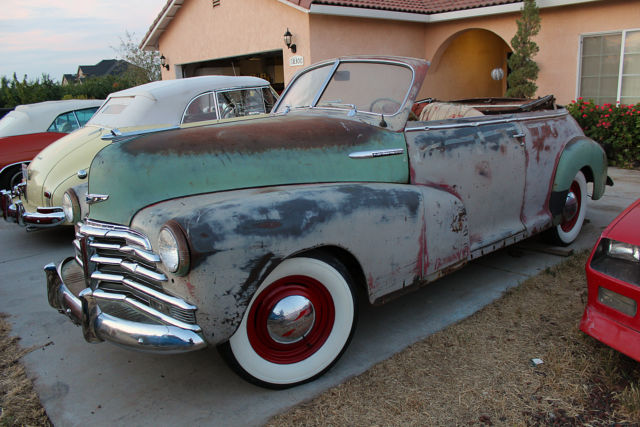 1948 chevrolet fleetmaster convertible 99 5 rust free same as 1941 1946 1947 for sale in. Black Bedroom Furniture Sets. Home Design Ideas