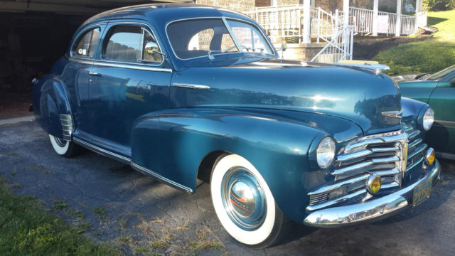 1948 chevrolet fleetmaster coupe for sale in york for 1948 chevy fleetmaster 2 door for sale