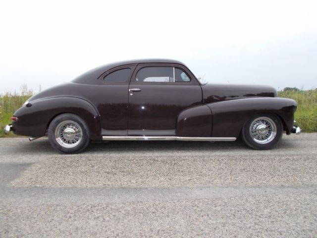 1948 chevrolet stylemaster chop top coupe hot rod chevy