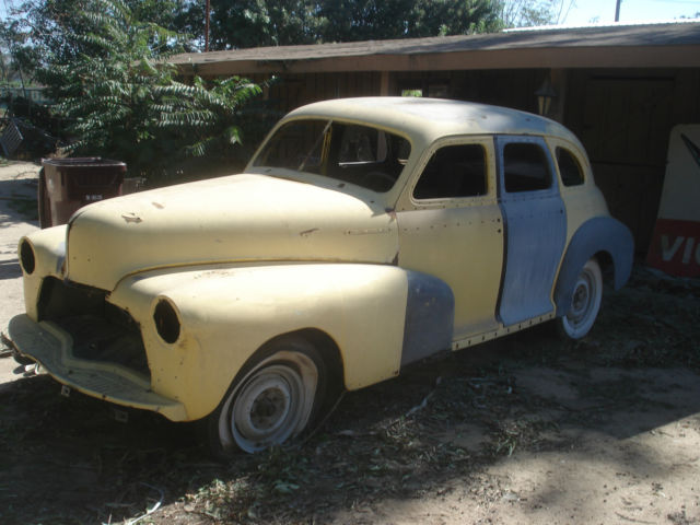 1948 chevy 4 door sedan great starter for restoration for sale in norco california united states for 1948 chevy 4 door sedan