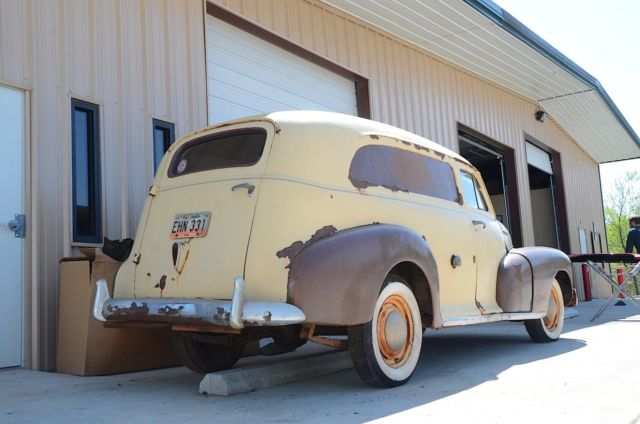 1948 Chevy Stylemaster Panel Delivery original condition for