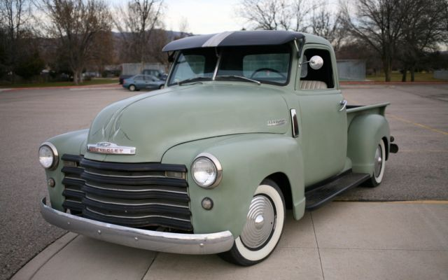 1948 chevy truck patina lowrider custom hotrod ratrod 235 white walls for sale in boise. Black Bedroom Furniture Sets. Home Design Ideas