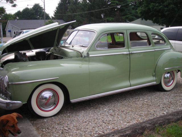 1948 dodge 4 door sedan pictures to pin on pinterest for 1949 dodge 2 door sedan