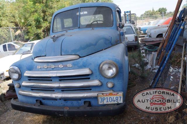 1948 Dodge B1 C Pickup Truck For Sale In Sacramento