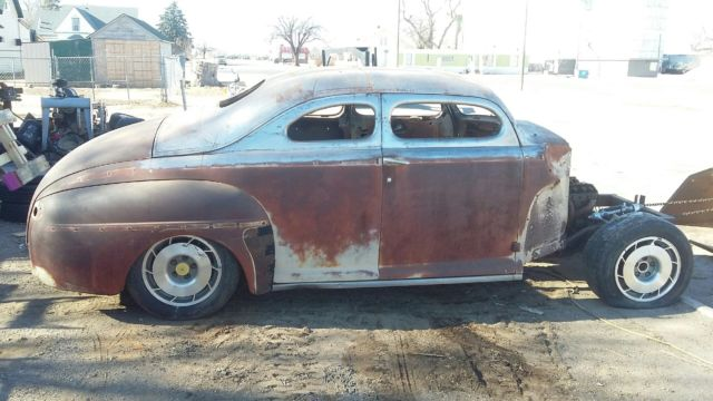 1948 ford 2 door business coupe chopped top custom rod rat for 1948 ford 2 door sedan