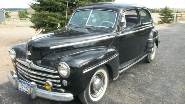 1948 ford 2 door super deluxe sedan for 1948 ford 2 door coupe