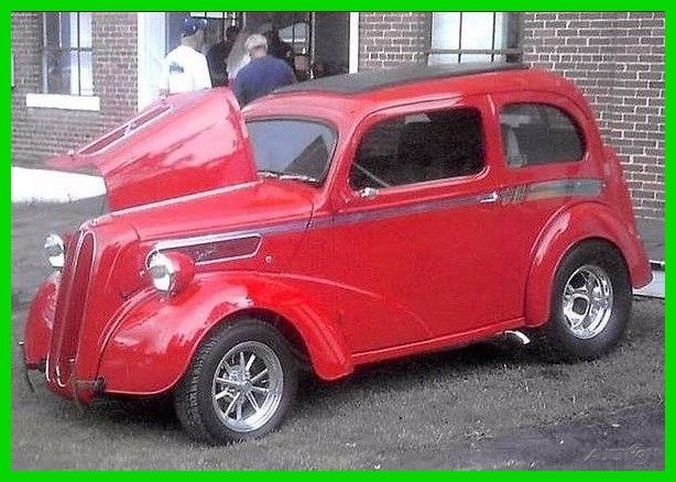 1948 ford anglia 2 door coupe english ford street rod for 1948 ford 2 door coupe