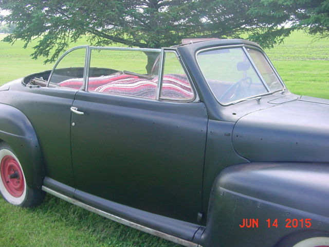 1948 Ford Convertible rat rod ,barn find project car for ...