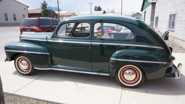 1948 ford deluxe 2 door sedan with flathead v8 low miles for 1948 ford two door sedan