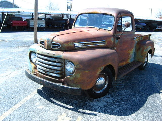 1948 FORD F1 PICKUP. SUPER NICE BODY. GORGEOUS NATURAL ...