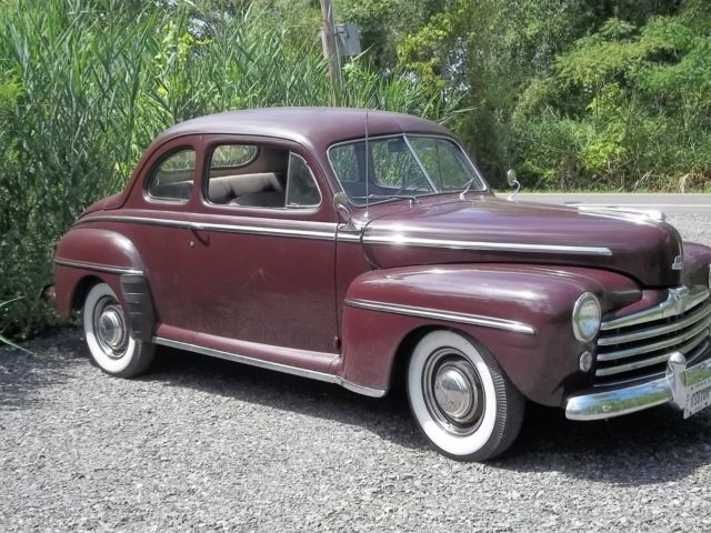 1948 Ford Super Deluxe Business Coupe for sale: photos