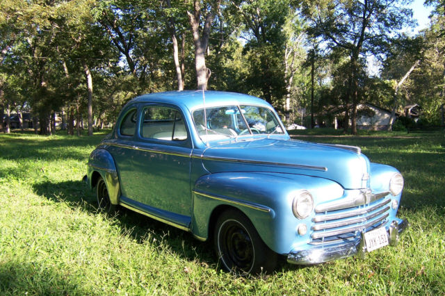 1948 ford super deluxe coupe for sale in richmond texas united states. Black Bedroom Furniture Sets. Home Design Ideas