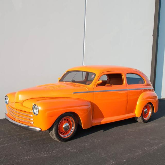 1948 ford two door custom sedan for 1948 ford 2 door coupe