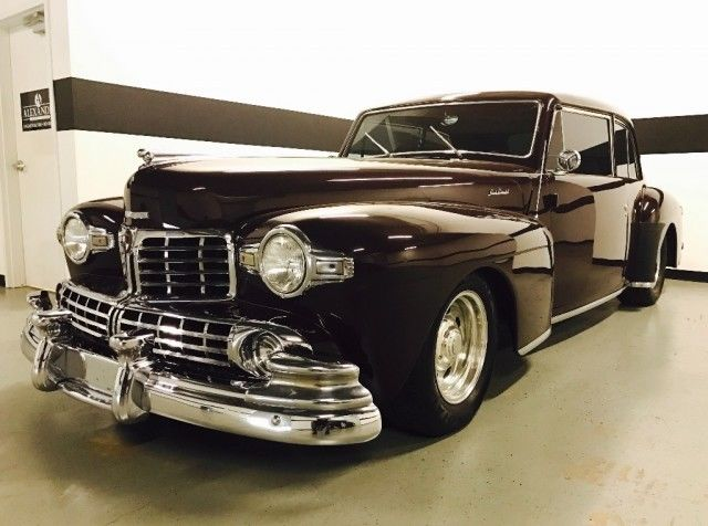 1948 lincoln continental coupe show car condition runs drives great clean. Black Bedroom Furniture Sets. Home Design Ideas