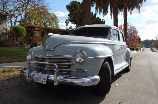 1948 Plymouth Special Deluxe 4 Door Sedan Original Parts