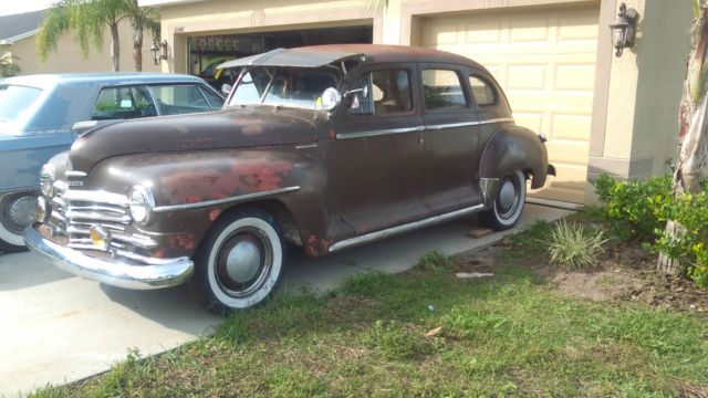 1948 Plymouth Special Deluxe Sedan