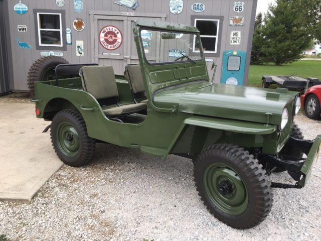 1946 Jeep Willys CJ2A For Parts |Jeep Cj2a Engines