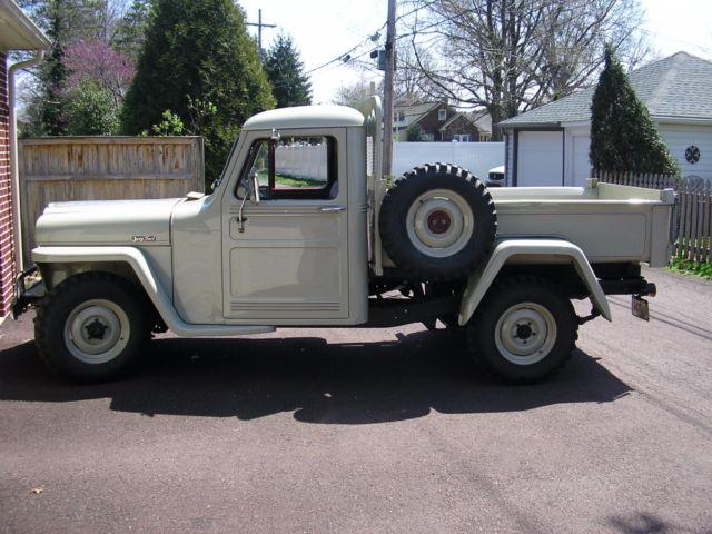1948 Willys Jeep Dump Truck