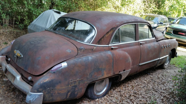 1949 buick roadmaster for parts or restoration for sale. Black Bedroom Furniture Sets. Home Design Ideas