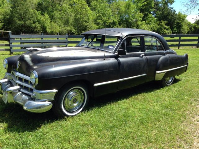 Cadillac Door Sedan Believed To Be A Series But Unable To Verify on 1949 Cadillac V8 Engine Specifications