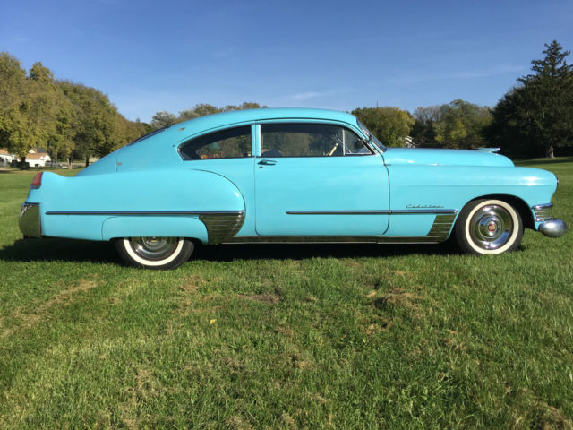 1949 Cadillac Coupe Series 62 Fastback For Sale In Sioux