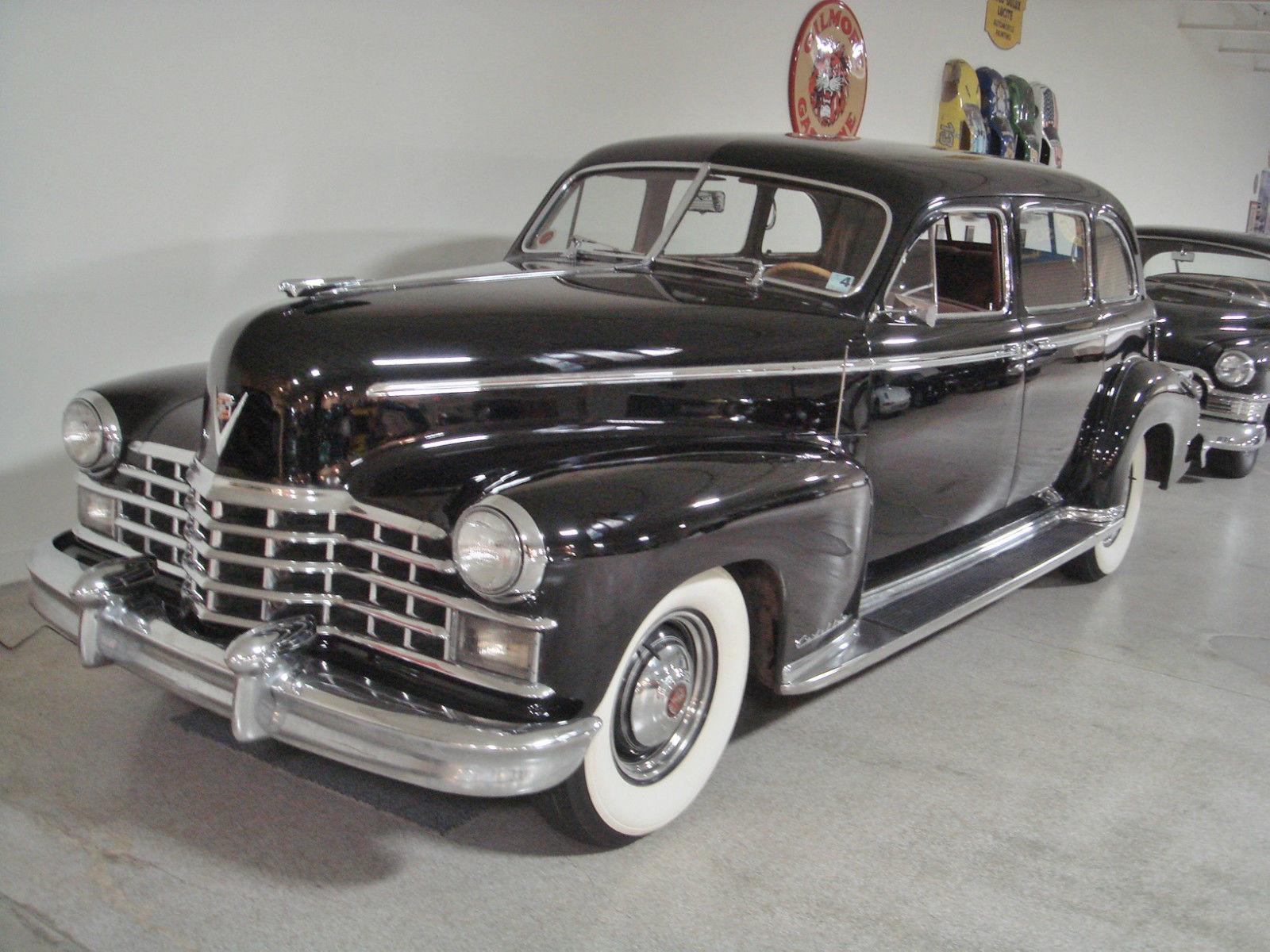 1949 cadillac fleetwood 7 passenger sedan great survivor for 1949 cadillac 4 door sedan