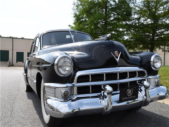 Cadillac Fleetwood Black V Automatic on 1949 Cadillac V8 Engine Specifications