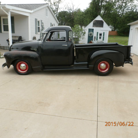 1949 chevy 3100 5 window short bed truck hot rod rat rod for 1949 five window chevy truck for sale