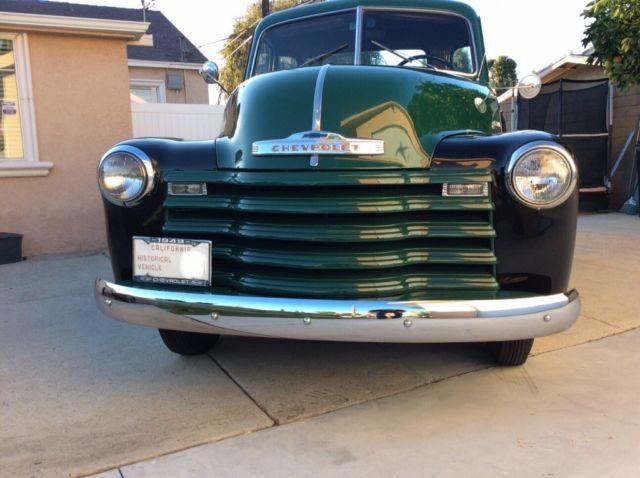 1949 Chevy 3100 pick up truck 5 window custom cab 47 48 49 ...