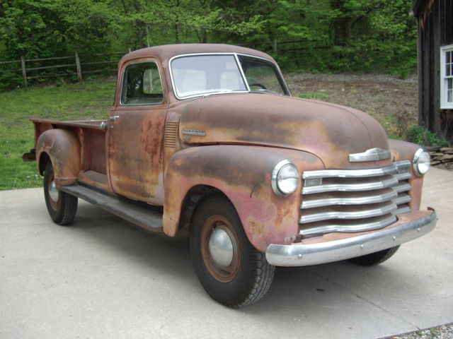1949 chevy 3800 1 ton pickup survivor unrestored 5 window deluxe third owner for sale in. Black Bedroom Furniture Sets. Home Design Ideas