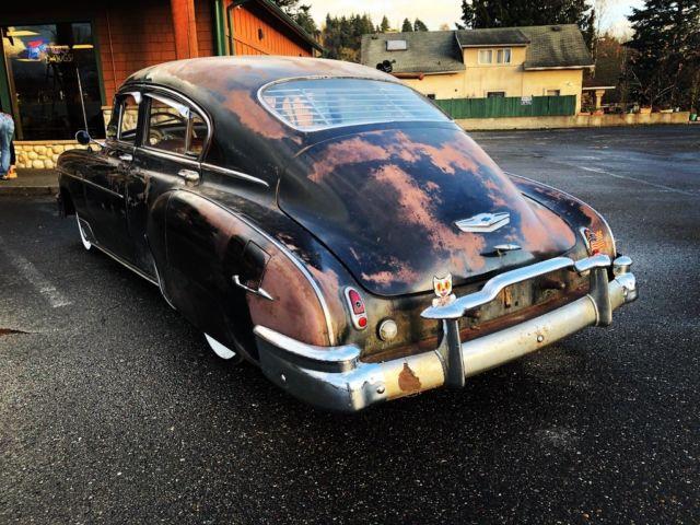 Texas Car Barn >> 1949 Chevy Fleetline Deluxe Lowrider Hot Rod Rat Rod Patina for sale: photos, technical ...