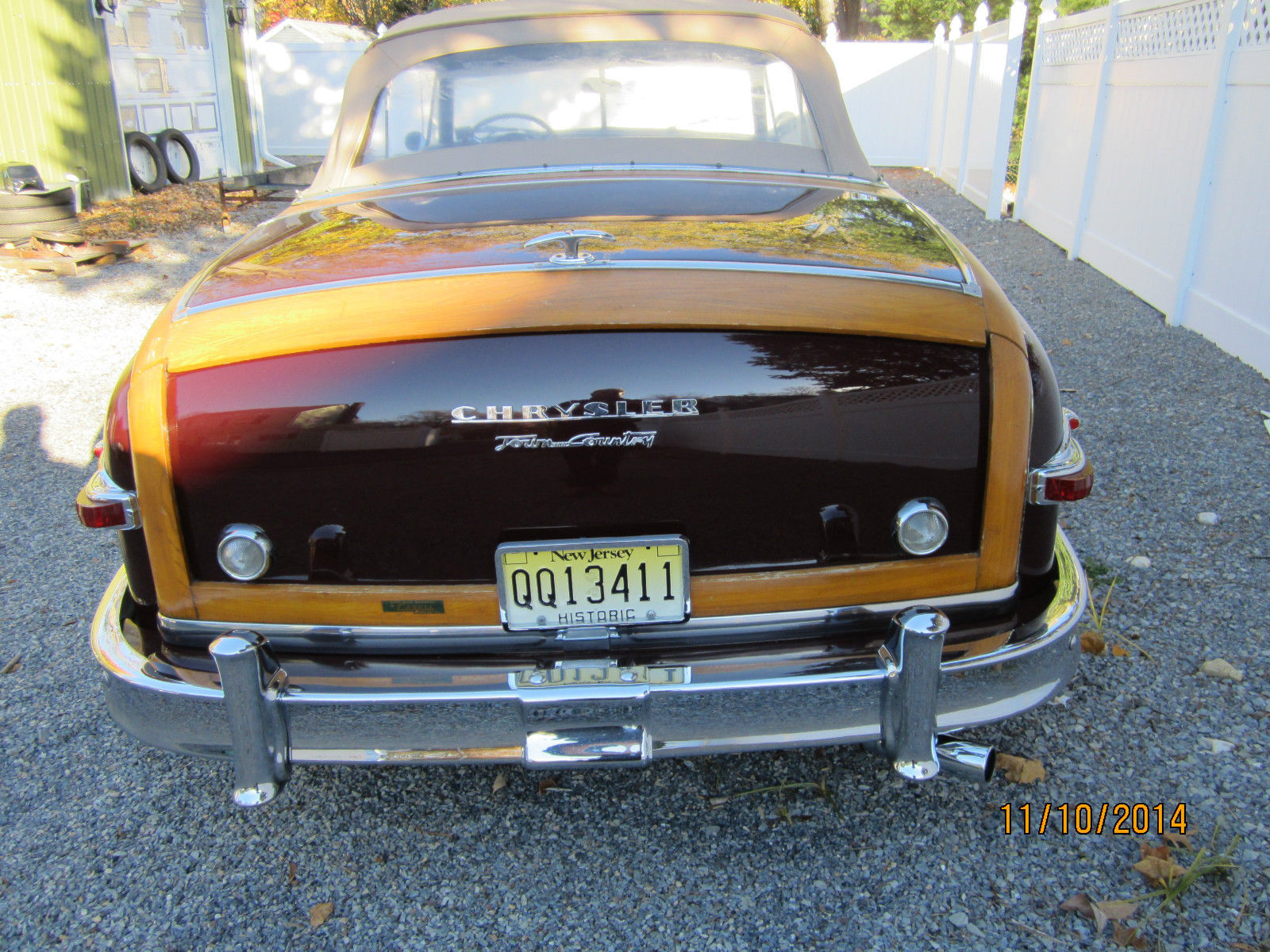 1949 Chrysler Town Country Convertible For Sale In Red Bank New Technical Specifications Of