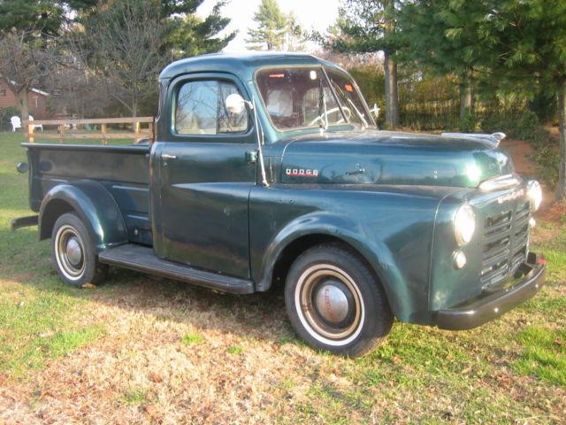 1949 dodge b1b pilothouse 5 windowpick up vintage antique for 1949 dodge 5 window pickup truck