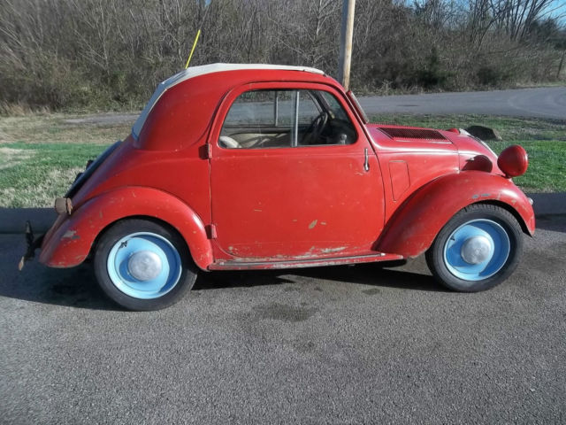 1949 fiat topolino 500 b for sale in columbia tennessee united states. Black Bedroom Furniture Sets. Home Design Ideas