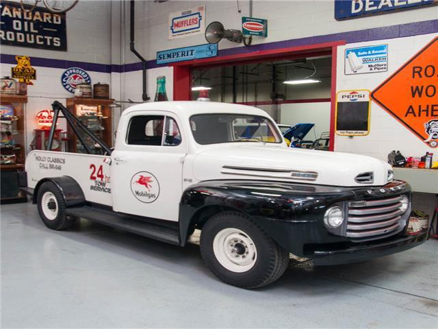 1949 ford f2 3 4 ton tow truck. Black Bedroom Furniture Sets. Home Design Ideas