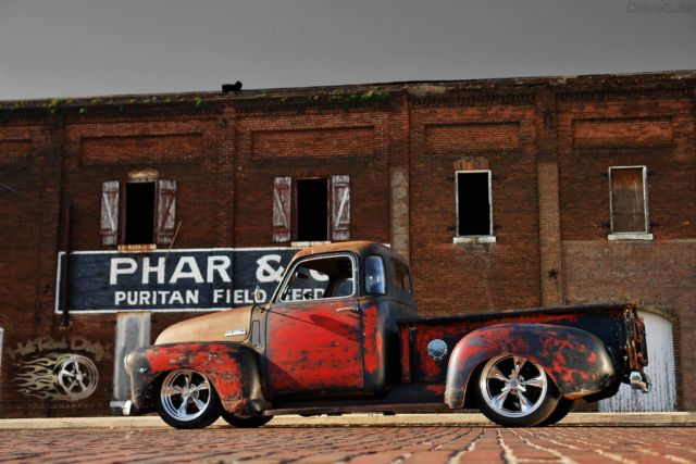 1949 Hot Rat Street Rod Pro Touring 3100 Chevy Patina Shop