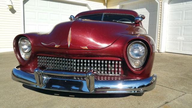 1949 Mercury RARE Custom Chopped Top Lead Sled Survivor Barn Find Classic Car