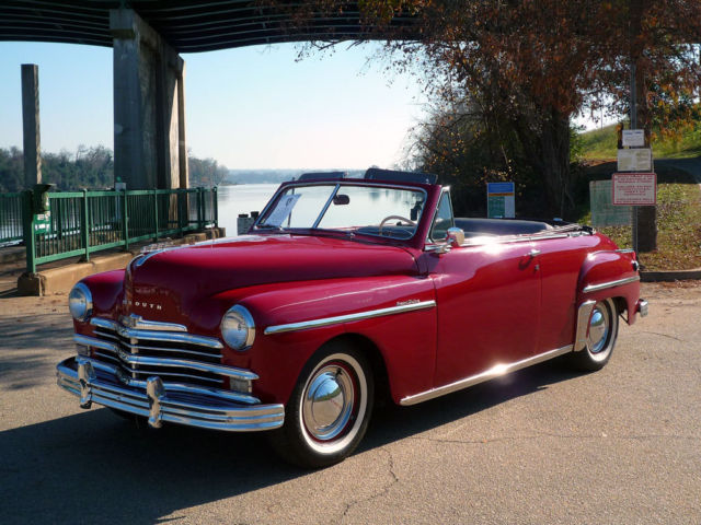 1949 Plymouth Special Deluxe Convertible The First Post