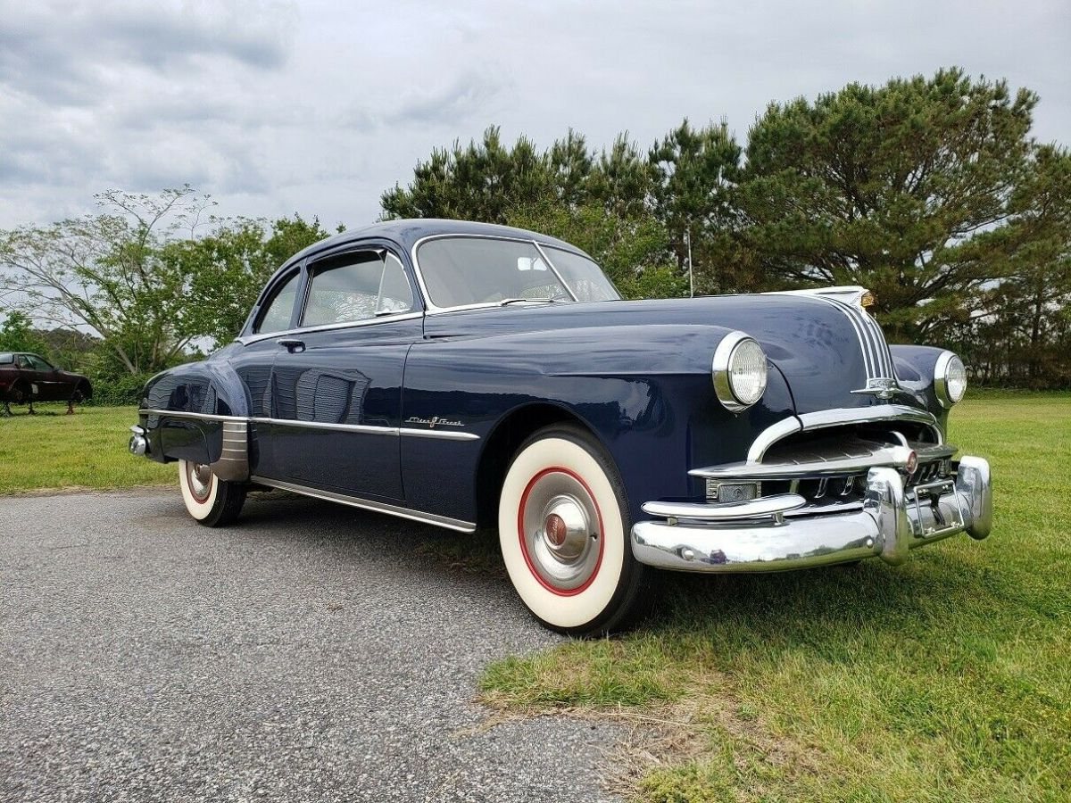1949 Pontiac Chieftain 2 Door Business Coupe Straight 8 Automatic Restored For Sale Photos Technical Specifications Description